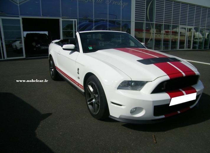 Ford Mustang Shelby GT500 cabriolet d'occasion gironde 33