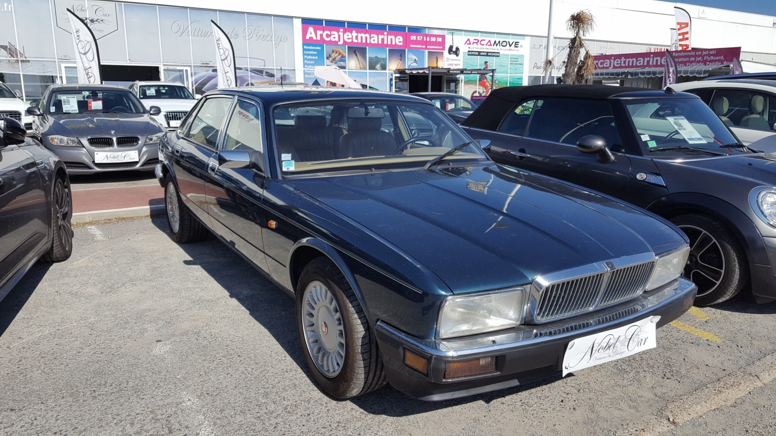 Jaguar Xj Sovereing BA V8 du 01/1992 avec 169 000 km d'occasion Nobel Car 33