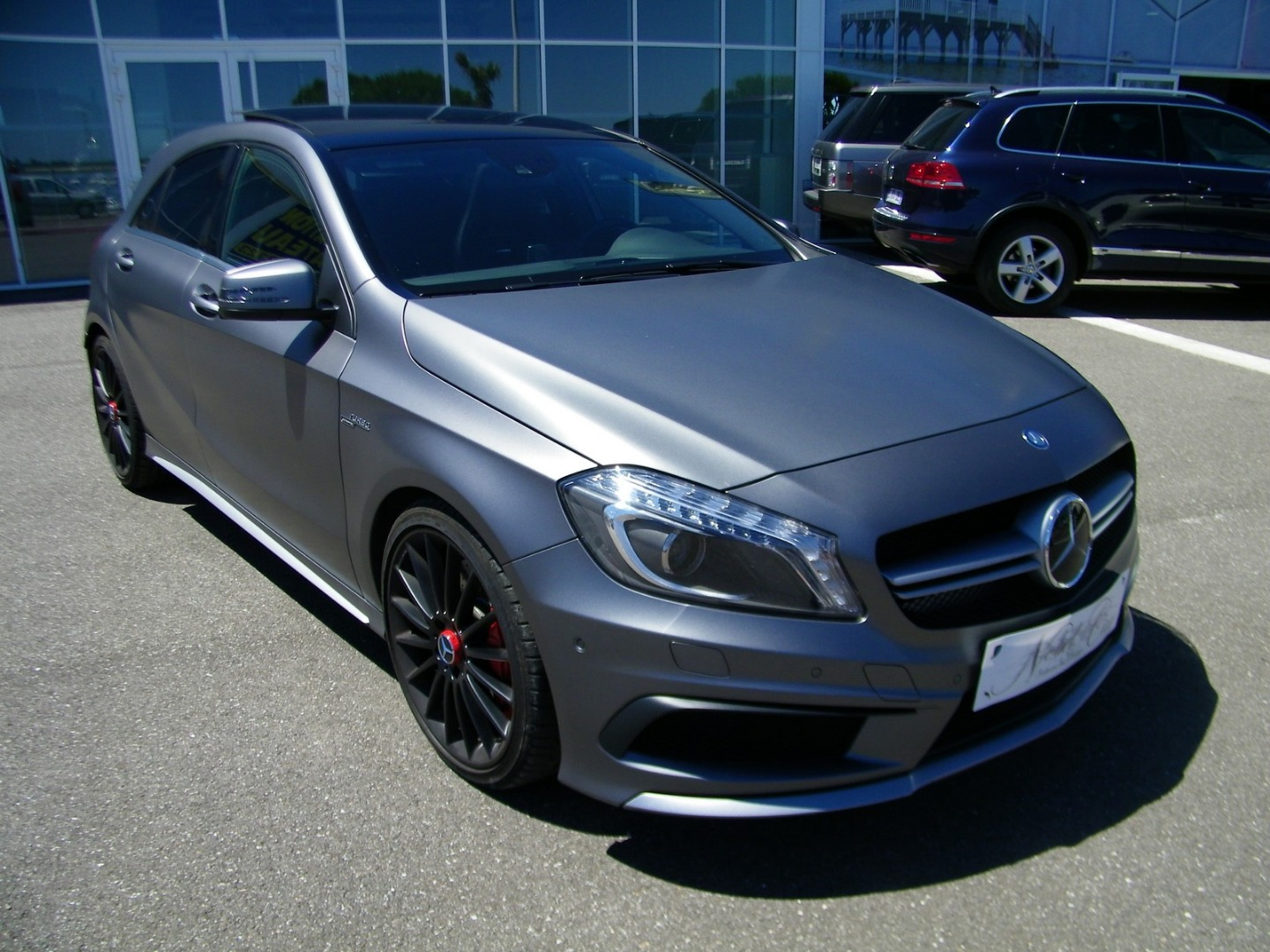 Mercedes Class A 45 AMG 4MATIC EDITION 1 SPEEDSHIFT-DCT du 04/2014 avec 41 000 km d'occasion Nobel Car Arcachon 33